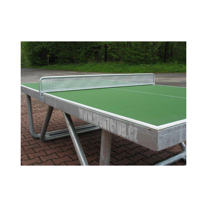 Síťka na venkovní stůl na stolní tenis, celokovová, POZINK