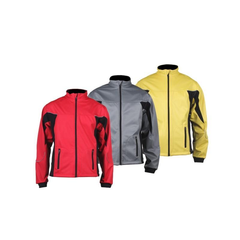 Softshelová bunda Merco Ski Windproof, žlutá/černá