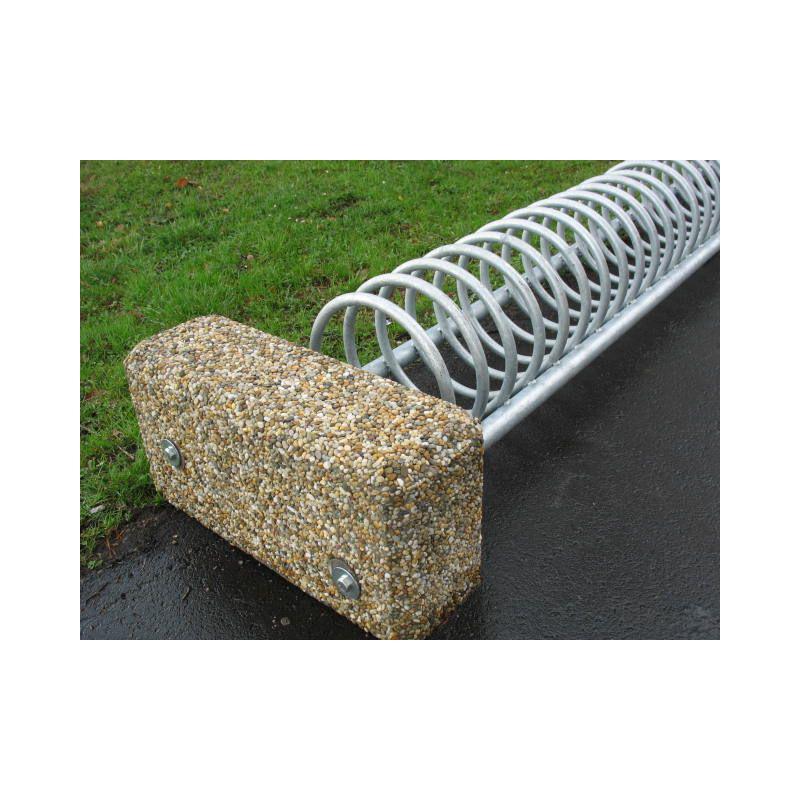 Stojan na kola s betonovým závažím, délka 1.5 m