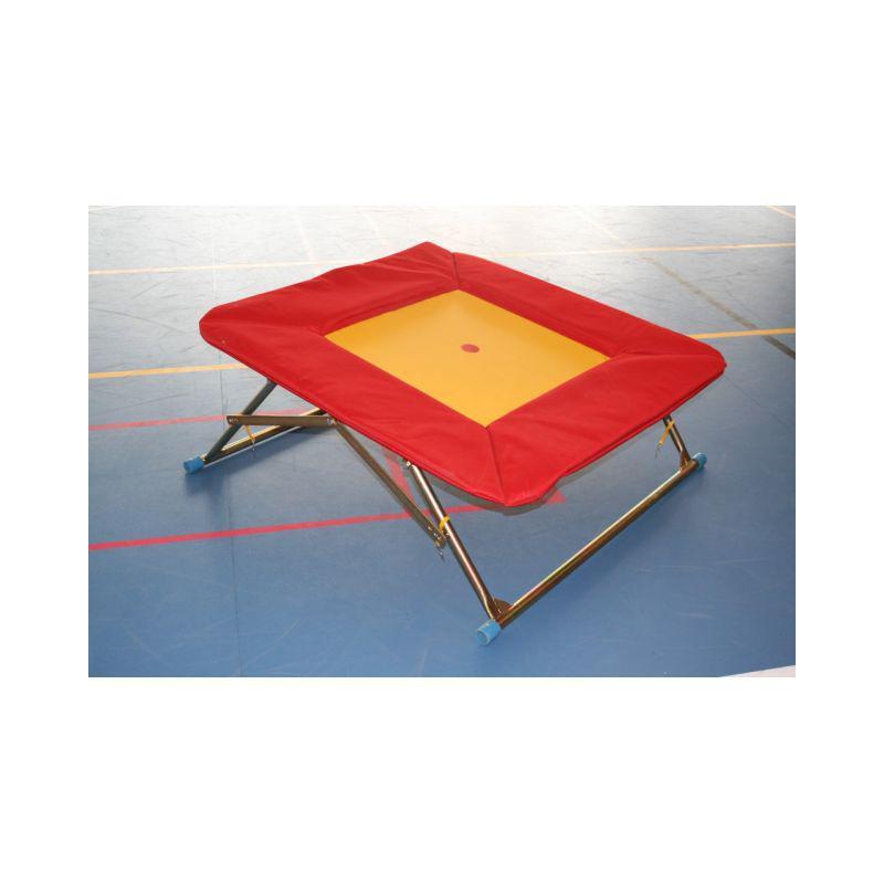 Trampolína gymnastická (školní) 110x110 cm - nastavitelná výška, pr