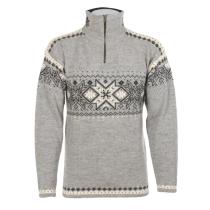 Unisex svetr Norlender TRYSIL šedý, norský vzor