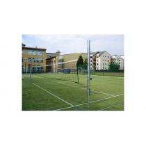 Volejbalové sloupky - exteriér (ZN), prům.102 mm + pouzdra + víčka, CERTIFIKÁT
