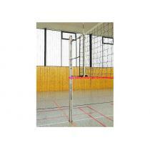 Volejbalové sloupky hranaté 80x80mm, (AL), certifikát