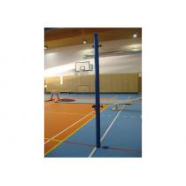 Volejbalové sloupky  komaxit - interiér, pr. sloupku 60 mm, včetně zemních pouzder
